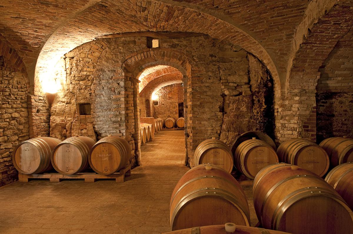 Weingut Einaudi in Dogliani, Italien.
