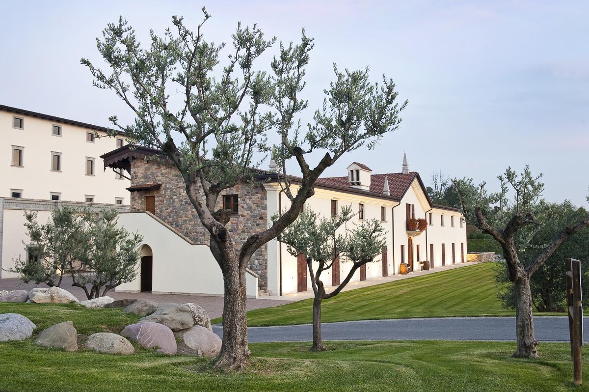 Weingut Muratori Villa Crespia in Adro, Italien.