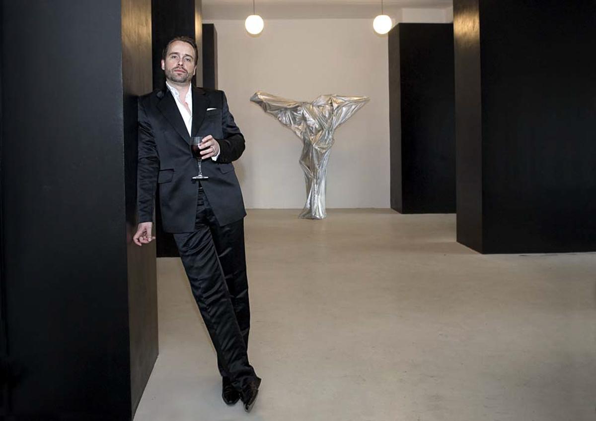 Michael Neff, Galerist // F.A.Z.