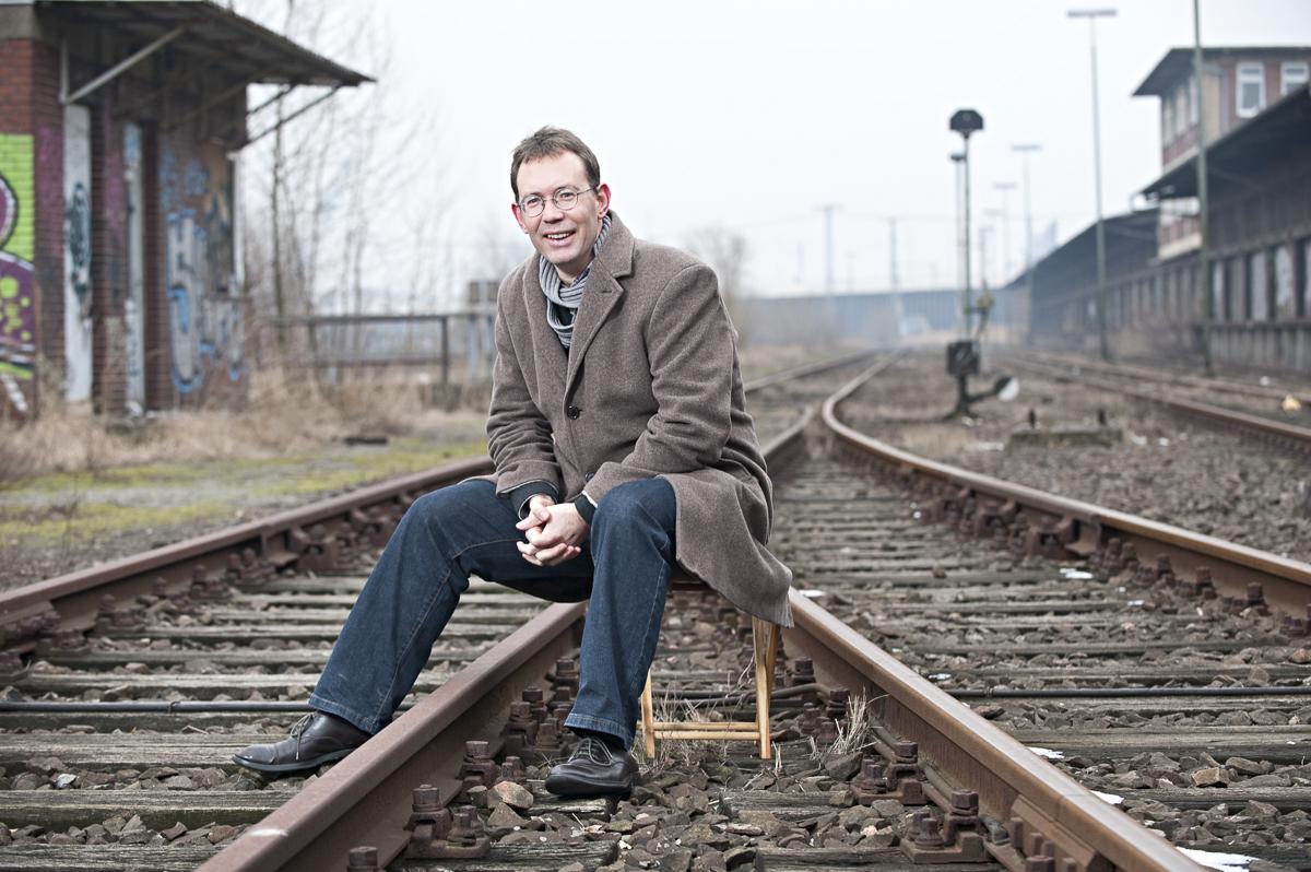 Derek Ladewig, Bahnunternehmen HKX GmbH // F.A.Z.