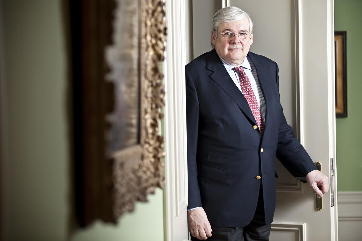 Richard Oetker, Vorstandsmitglied der Oetker-Gruppe // F.A.Z.