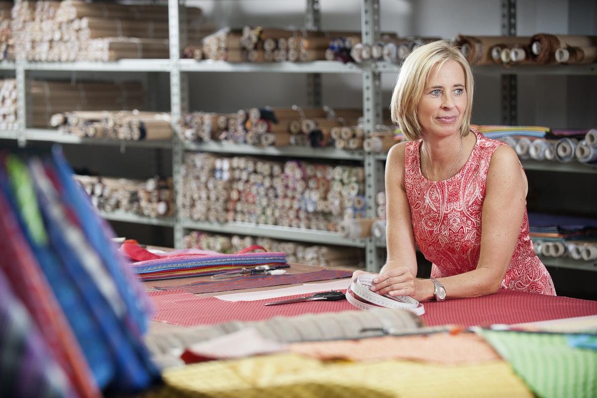 Jessica Bartling, Krawatten-Manufaktur LACO // F.A.Z.