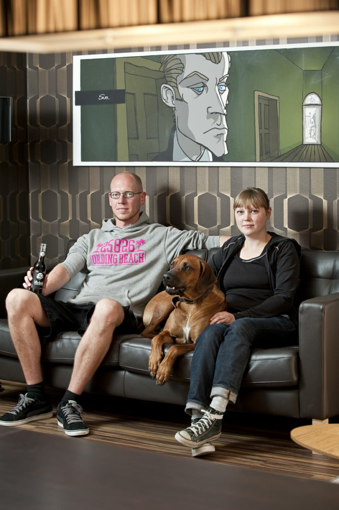 C. Schulze von Hanxleden und Angela Jacob, Beach Hostel St. Peter Ording // GEO Saison