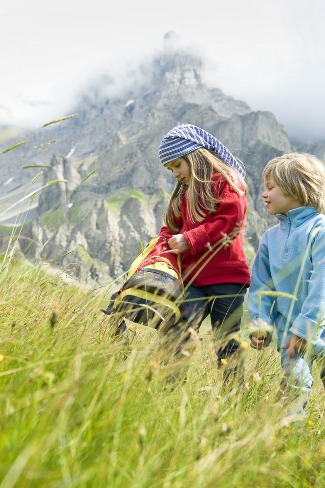 GEO Saison: Reisen mit Kindern. Urlaub auf der Alphuette. Produktion 2012.