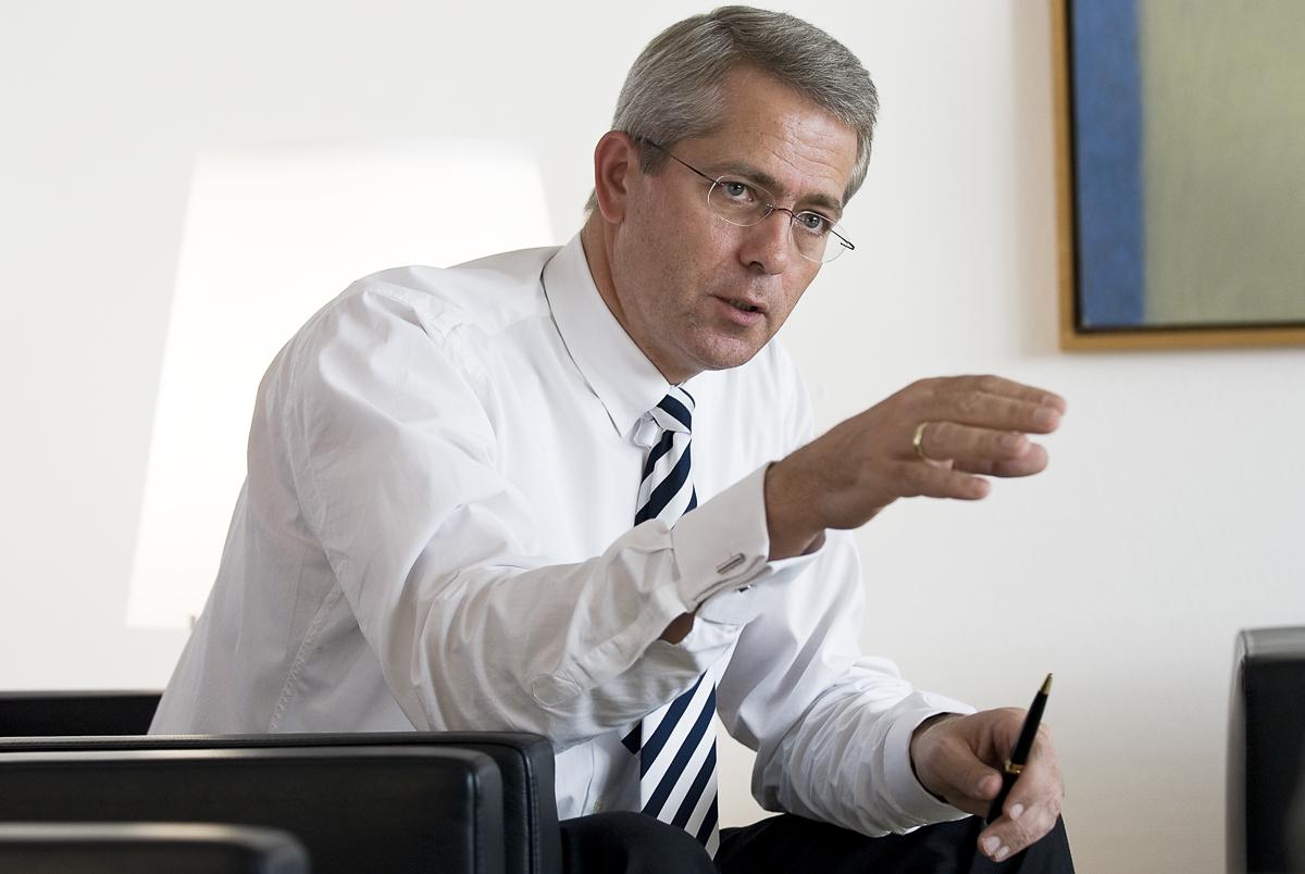 Stefan Schulte, Vorstandsmitglied der Fraport AG // F.A.Z.