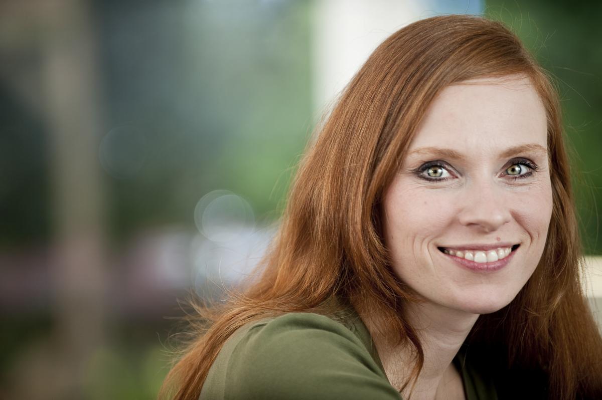 Diana Schwarz, personal Trainer // VIGO AOK-Kundenmagazin