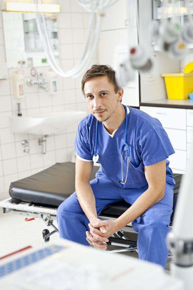 Tomasz Jochem, Krankenpfleger // VIGO AOK-Kundenmagazin